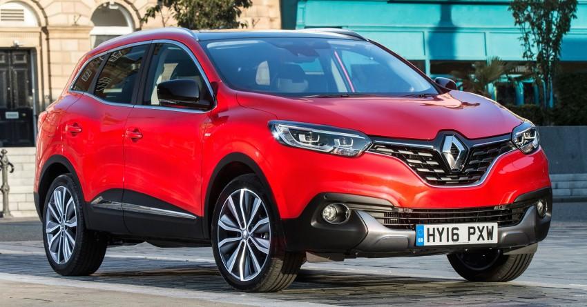 Renault Kadjar gets new 1.2 turbo mill, 7-speed EDC Image #474713