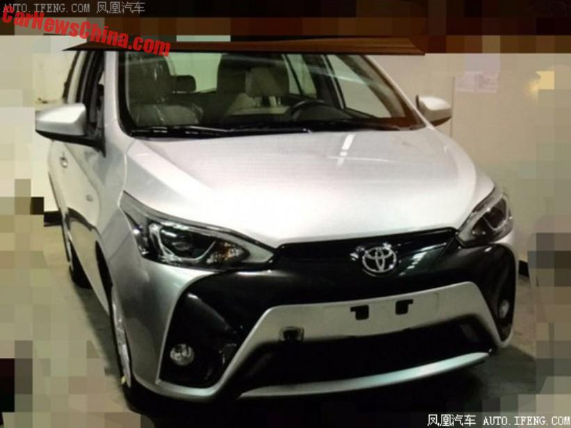 2016 Toyota Yaris L facelift for China appears online Image #473358