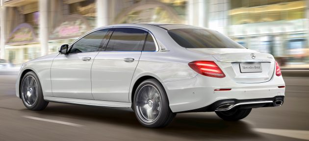 Langversion der neuen E-Klasse LimousineLong-wheelbase version of the new E-Class Saloon