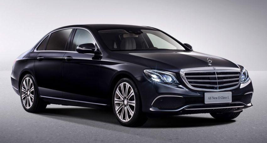 V213 Mercedes Benz E Class L Revealed For China Image 482671