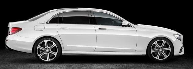 Langversion der neuen E-Klasse Limousine Long-wheelbase version of the new E-Class Saloon