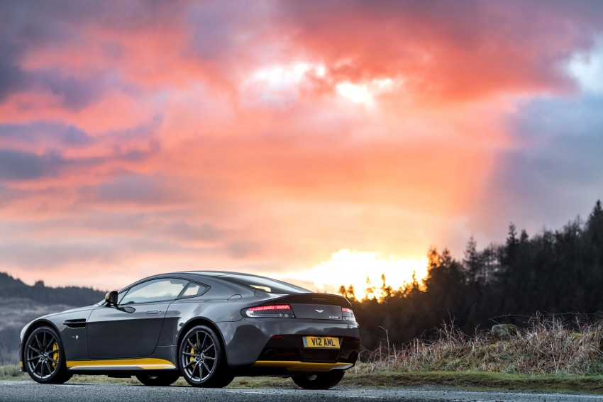 2017 Aston Martin V12 Vantage S gets 7-spd manual Image #473001