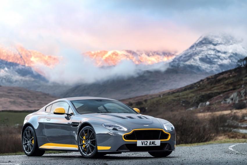 2017 Aston Martin V12 Vantage S gets 7-spd manual Image #473002