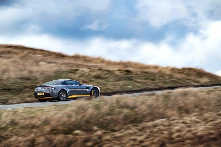 2017 Aston Martin V12 Vantage S gets 7-spd manual Image #473006