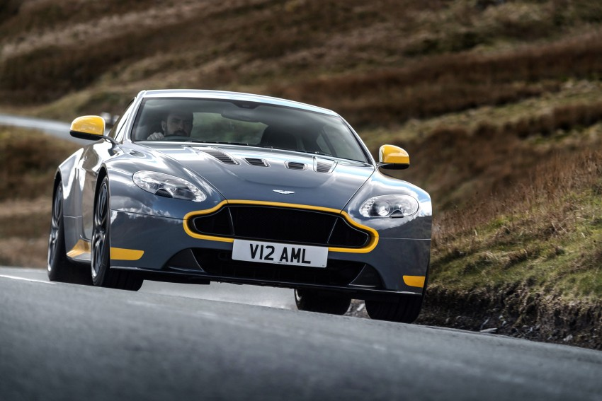 2017 Aston Martin V12 Vantage S gets 7-spd manual Image #473007