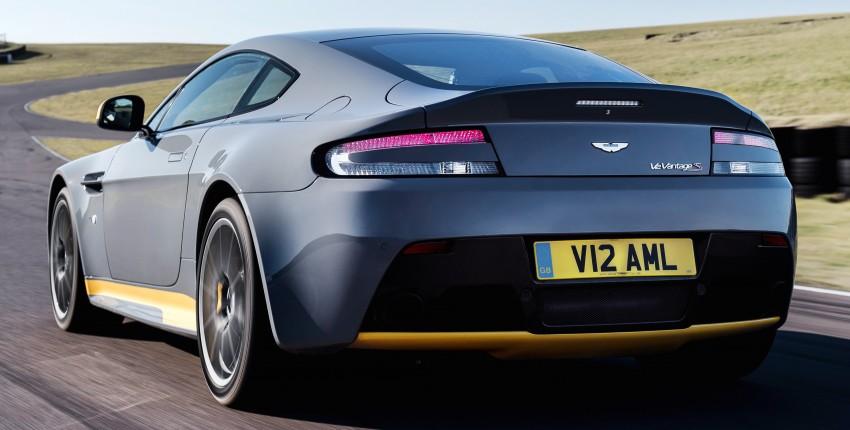2017 Aston Martin V12 Vantage S gets 7-spd manual Image #472985