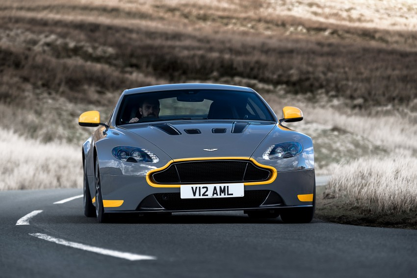 2017 Aston Martin V12 Vantage S gets 7-spd manual Image #473012