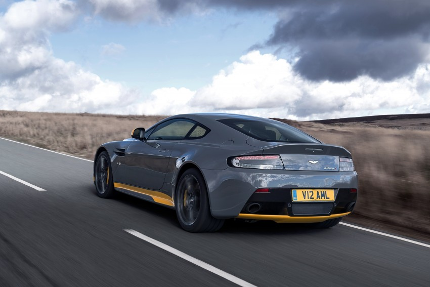 2017 Aston Martin V12 Vantage S gets 7-spd manual Image #473014