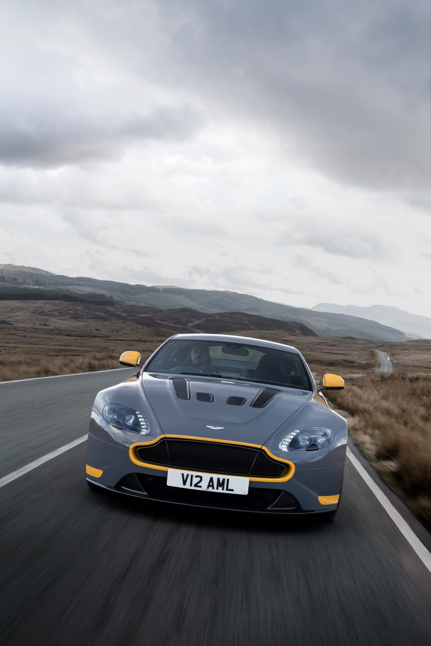 2017 Aston Martin V12 Vantage S gets 7-spd manual Image #473016