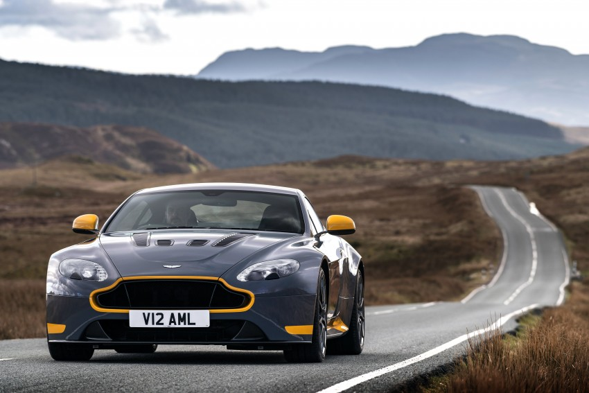 2017 Aston Martin V12 Vantage S gets 7-spd manual Image #473020