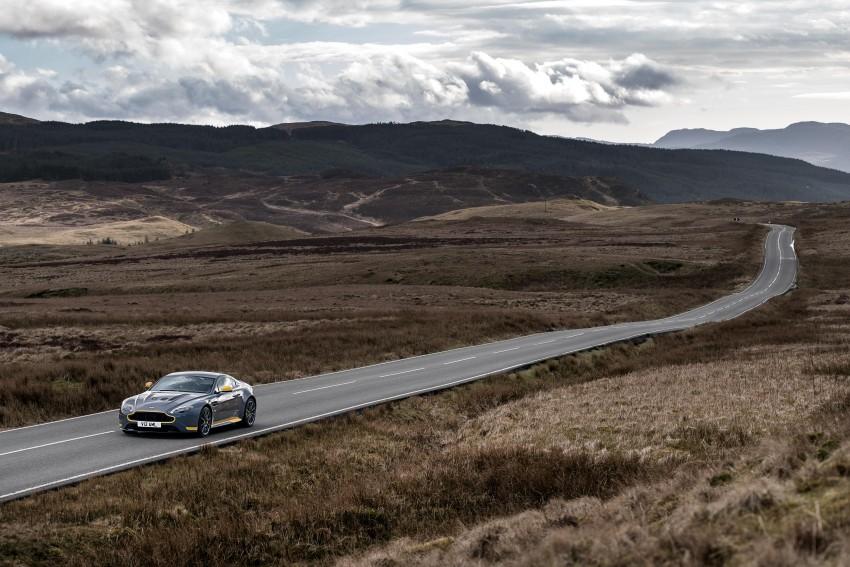 2017 Aston Martin V12 Vantage S gets 7-spd manual Image #473021
