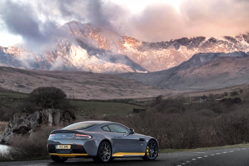 2017 Aston Martin V12 Vantage S gets 7-spd manual Image #473023