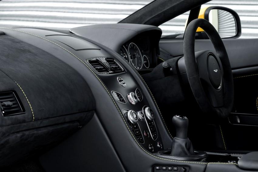 2017 Aston Martin V12 Vantage S gets 7-spd manual Image #472988