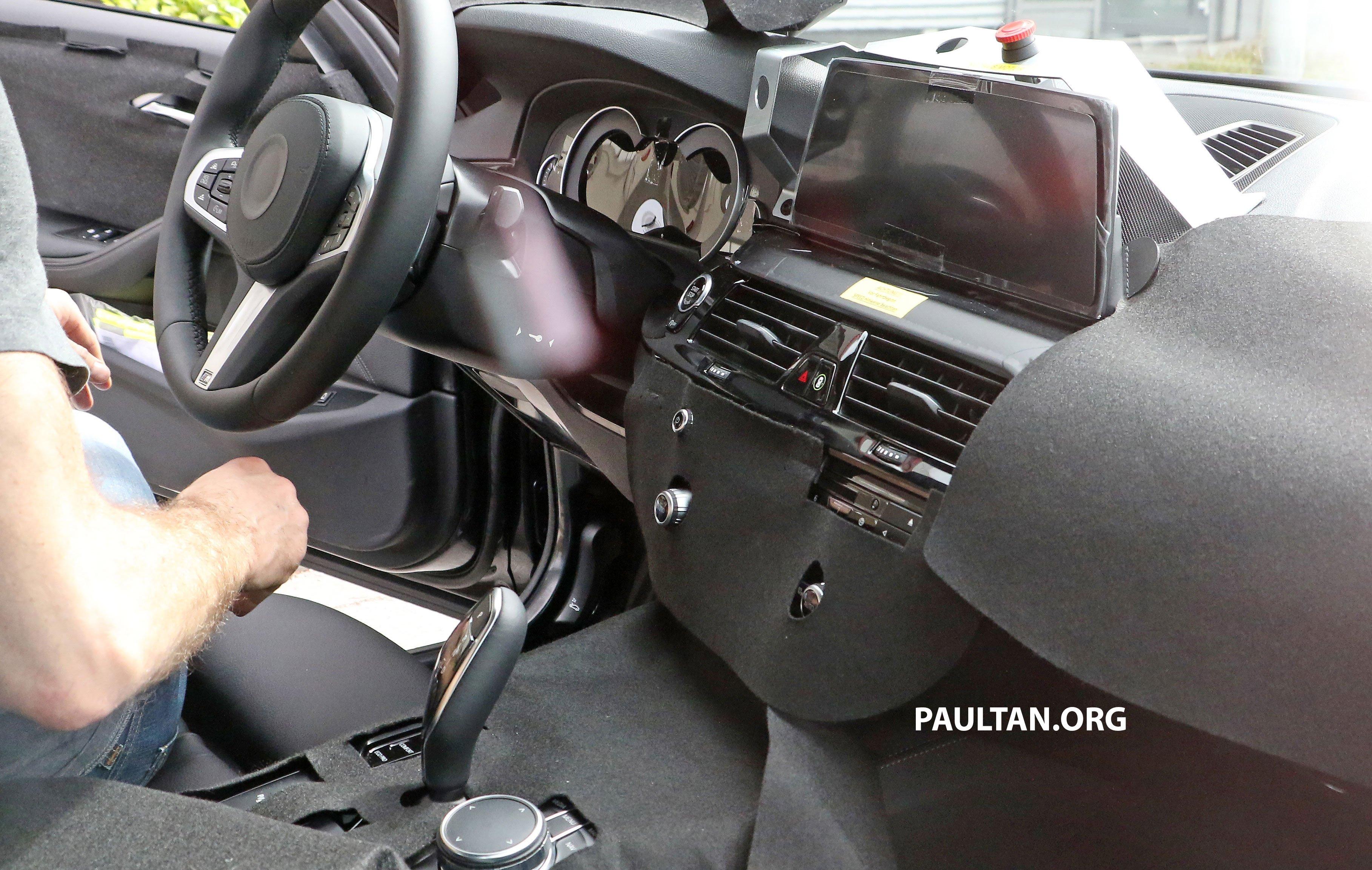 SPIED G30 BMW 5 Series M Sport Shows Its Interior Image 471652
