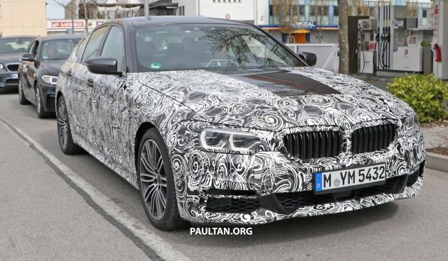 SPIED: G30 BMW 5 Series M Sport shows its interior