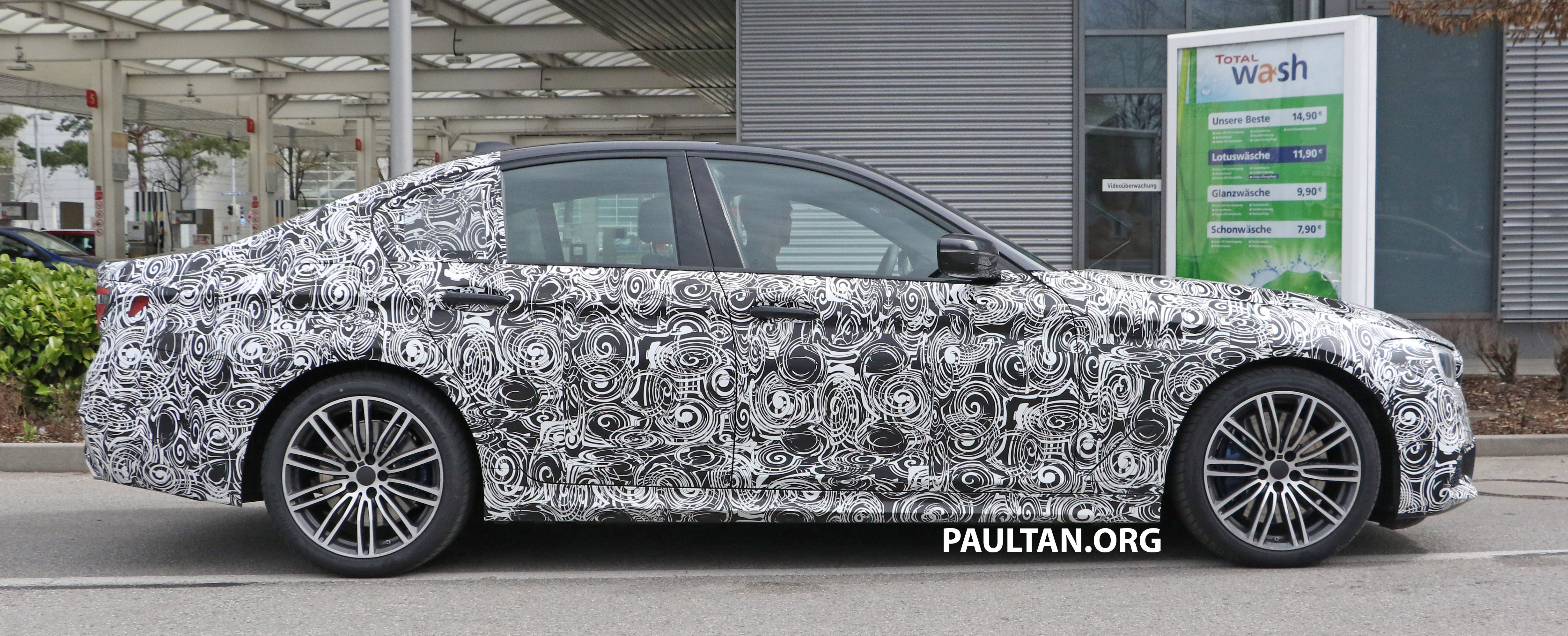 SPIED: G30 BMW 5 Series M Sport shows its interior Paul Tan - Image