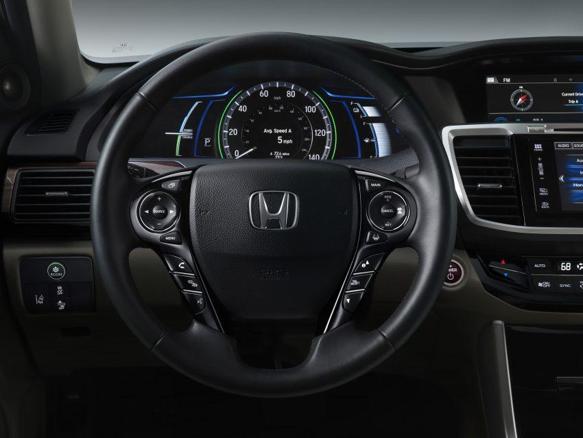 2017 Honda Accord Hybrid revealed – up to 20.4 km/l Image #481737