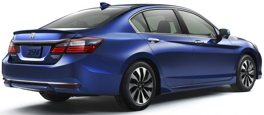 2017 Honda Accord Hybrid revealed – up to 20.4 km/l Image #481723