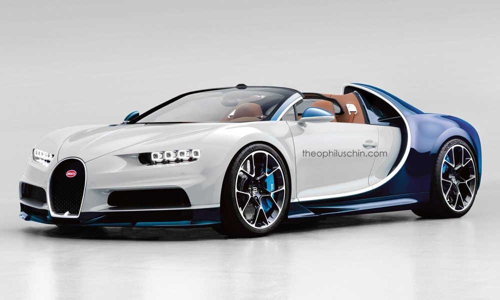 bugatti chiron grand sport rendered venom beater. Black Bedroom Furniture Sets. Home Design Ideas