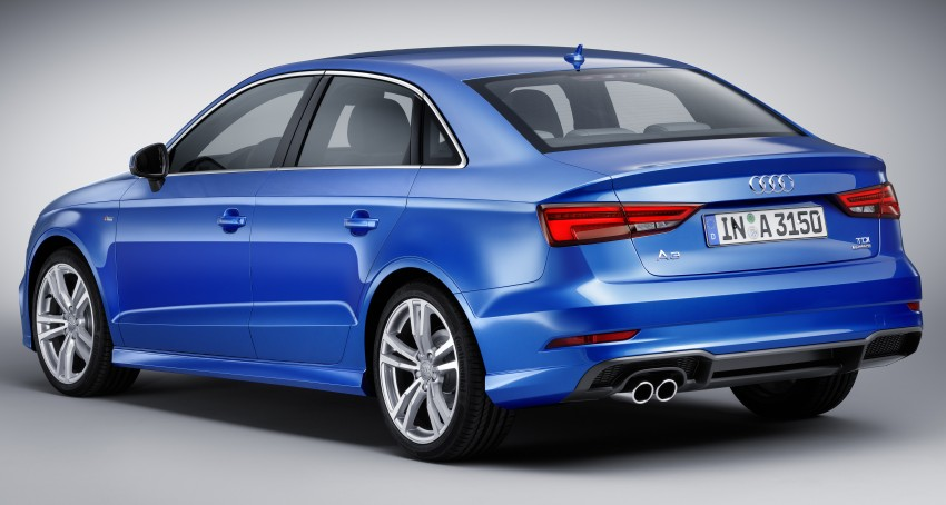 Audi A 3 Sedan >> Audi A3 and S3 facelift gets new looks, tech, engines Image 472244