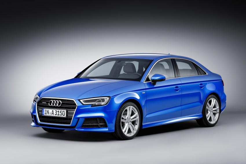 Audi A3 and S3 facelift gets new looks, tech, engines Image #472245