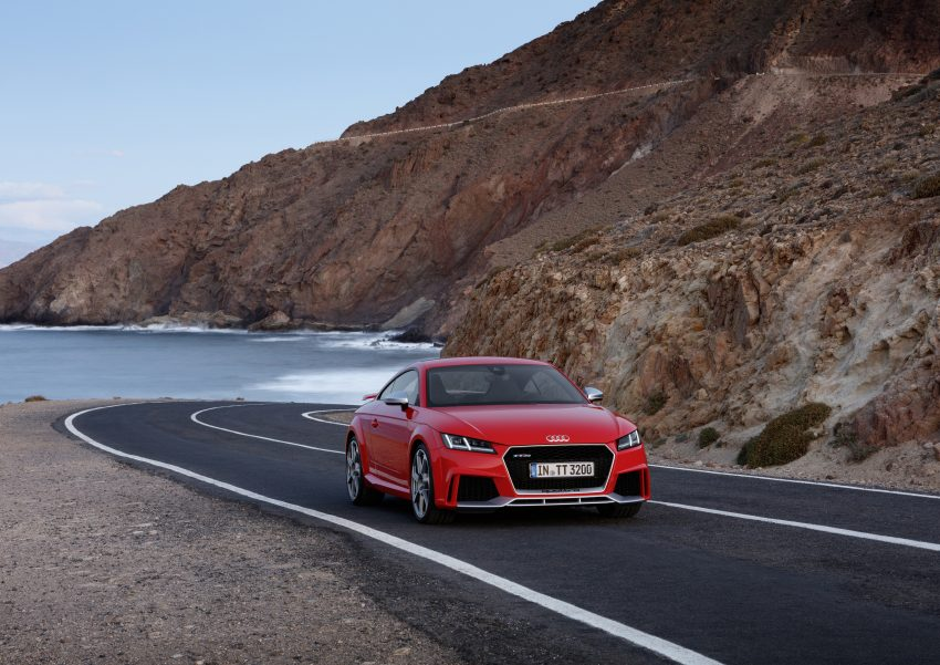 2016 Audi TT RS Coupe, Roadster debut with 400 hp Image #482908