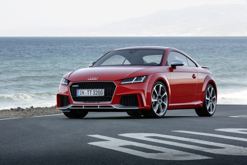 2016 Audi TT RS Coupe, Roadster debut with 400 hp Image #482932