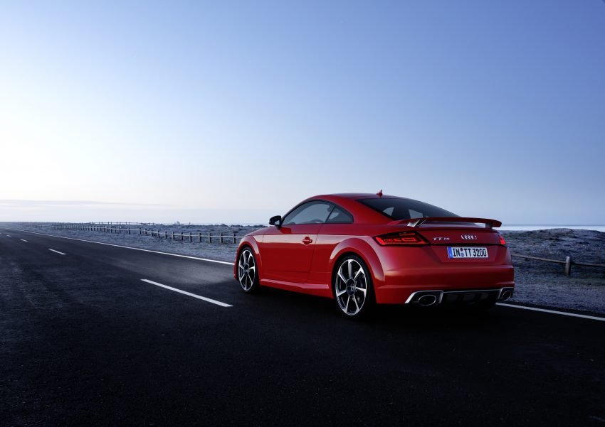 2016 Audi TT RS Coupe, Roadster debut with 400 hp Image #482910