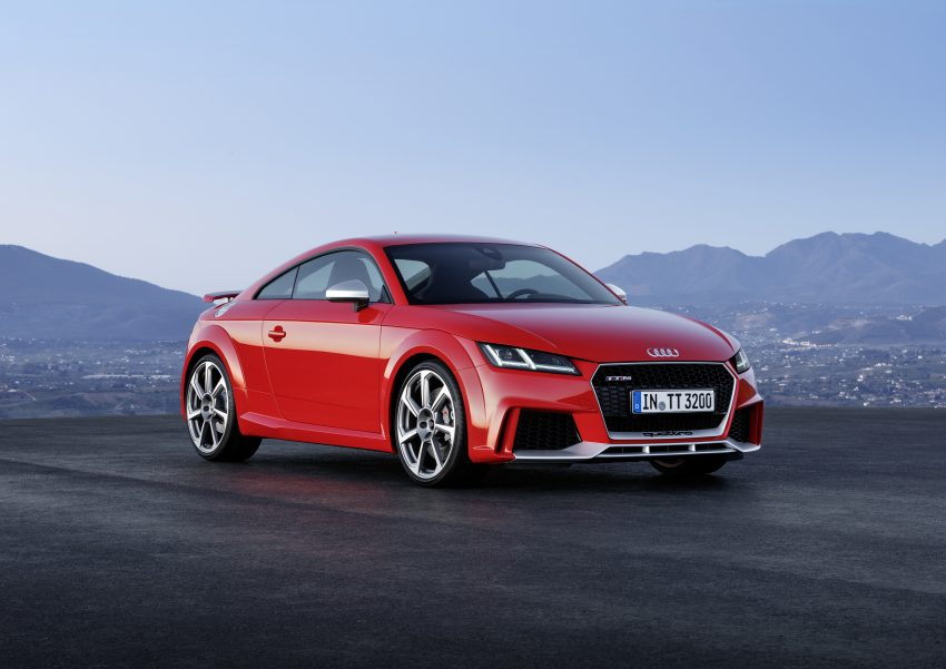 2016 Audi TT RS Coupe, Roadster debut with 400 hp Image #482934