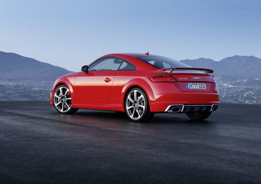 2016 Audi TT RS Coupe, Roadster debut with 400 hp Image #482926
