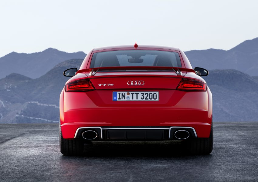 2016 Audi TT RS Coupe, Roadster debut with 400 hp Image #482921