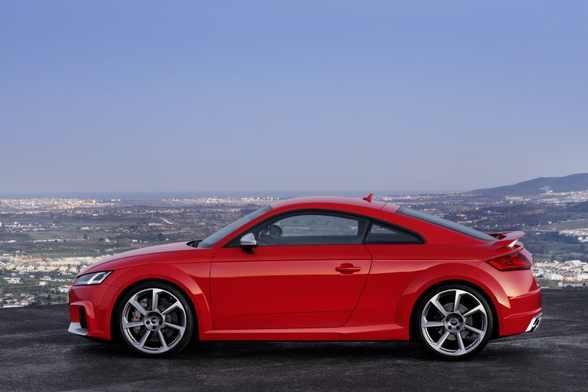2016 Audi TT RS Coupe, Roadster debut with 400 hp Image #482914
