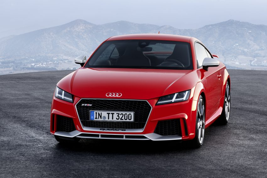 2016 Audi TT RS Coupe, Roadster debut with 400 hp Image #482906