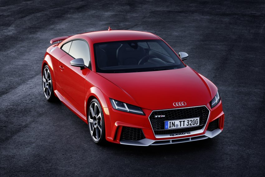 2016 Audi TT RS Coupe, Roadster debut with 400 hp Image #482904