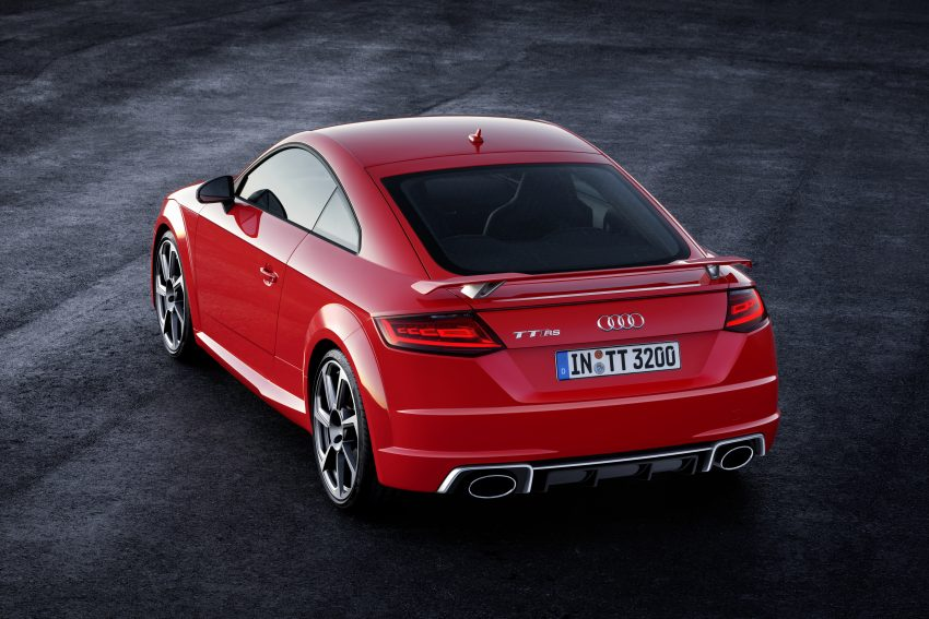 2016 Audi TT RS Coupe, Roadster debut with 400 hp Image #482901