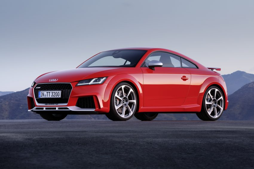 2016 Audi TT RS Coupe, Roadster debut with 400 hp Image #482915