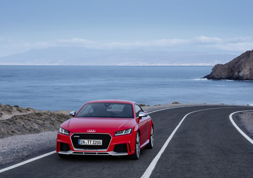 2016 Audi TT RS Coupe, Roadster debut with 400 hp Image #482917