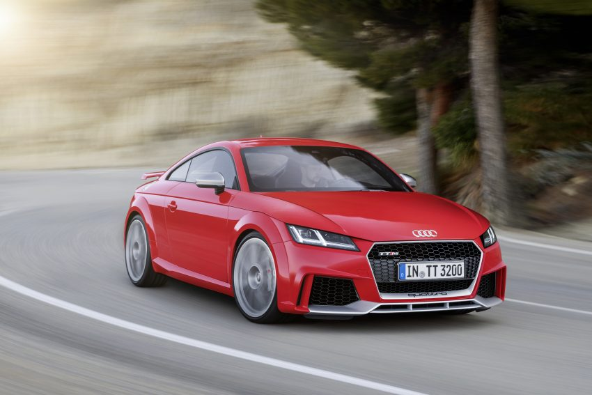 2016 Audi TT RS Coupe, Roadster debut with 400 hp Image #482913