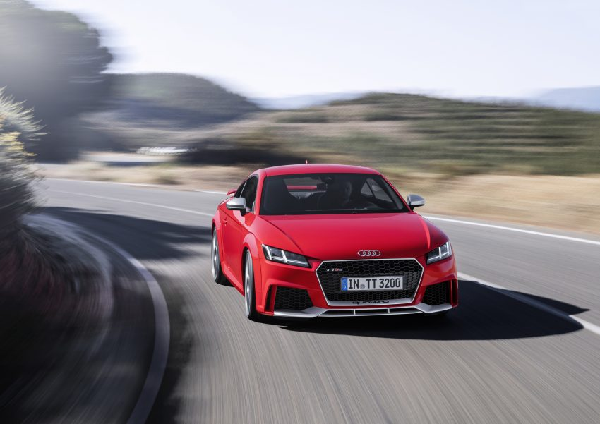 2016 Audi TT RS Coupe, Roadster debut with 400 hp Image #482912