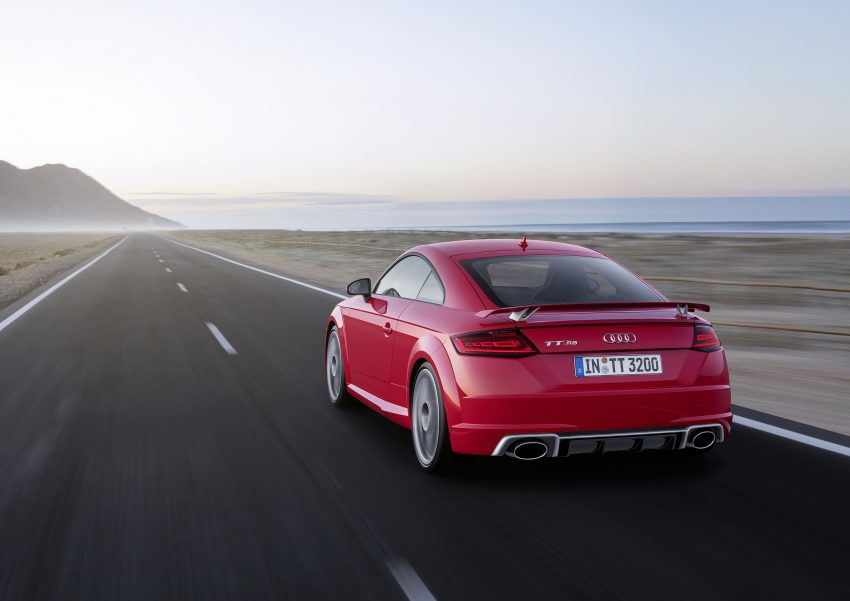 2016 Audi TT RS Coupe, Roadster debut with 400 hp Image #482911
