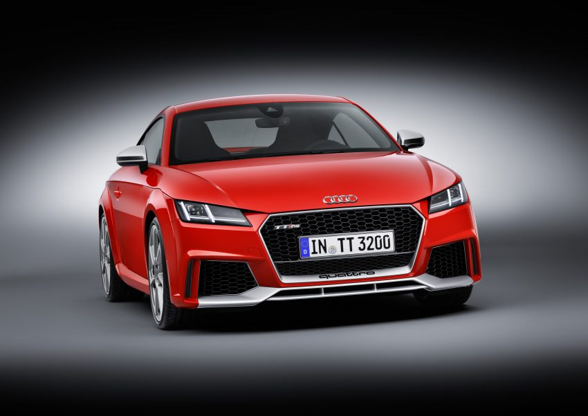 2016 Audi TT RS Coupe, Roadster debut with 400 hp Image #482902