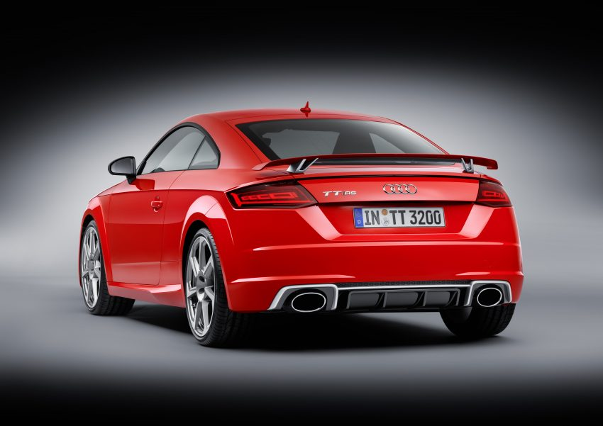 2016 Audi TT RS Coupe, Roadster debut with 400 hp Image #482900