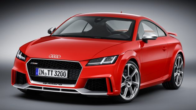 2016 Audi TT RS Coupe, Roadster debut with 400 hp