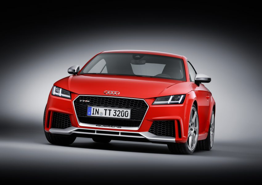 2016 Audi TT RS Coupe, Roadster debut with 400 hp Image #482897