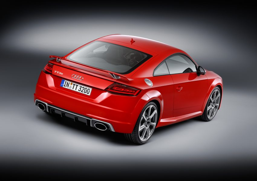 2016 Audi TT RS Coupe, Roadster debut with 400 hp Image #482893