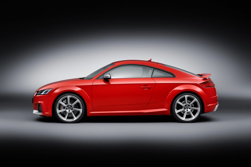 2016 Audi TT RS Coupe, Roadster debut with 400 hp Image #482892