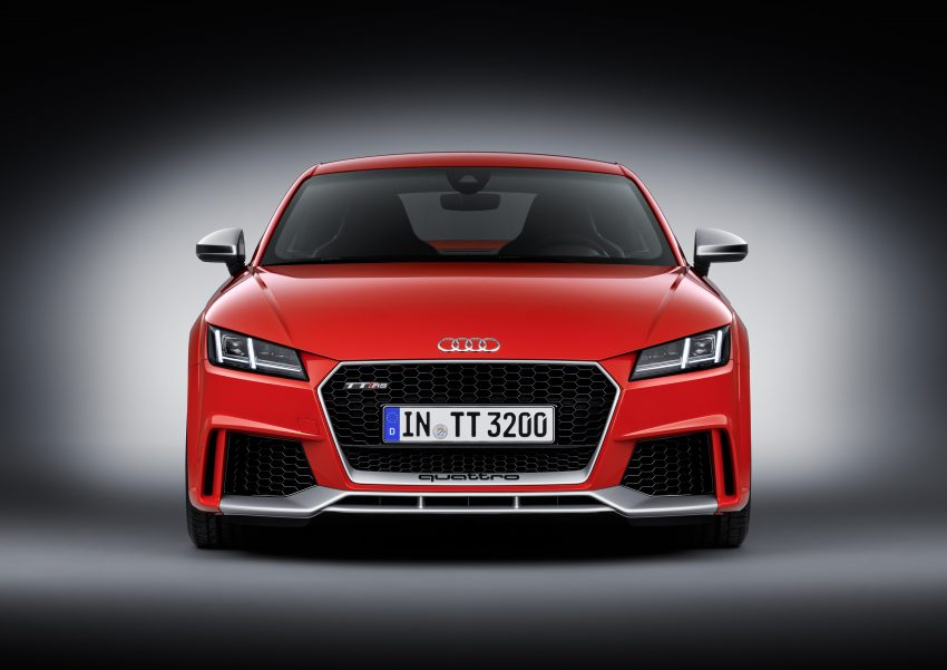 2016 Audi TT RS Coupe, Roadster debut with 400 hp Image #482891