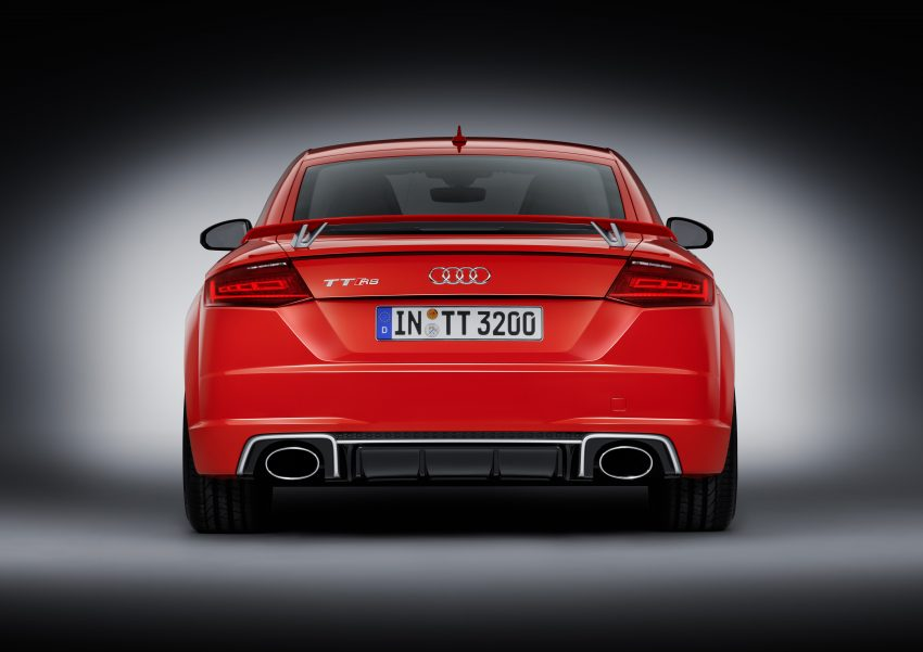 2016 Audi TT RS Coupe, Roadster debut with 400 hp Image #482890