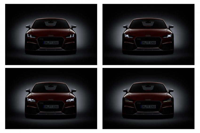 2016 Audi TT RS Coupe, Roadster debut with 400 hp Image #482885