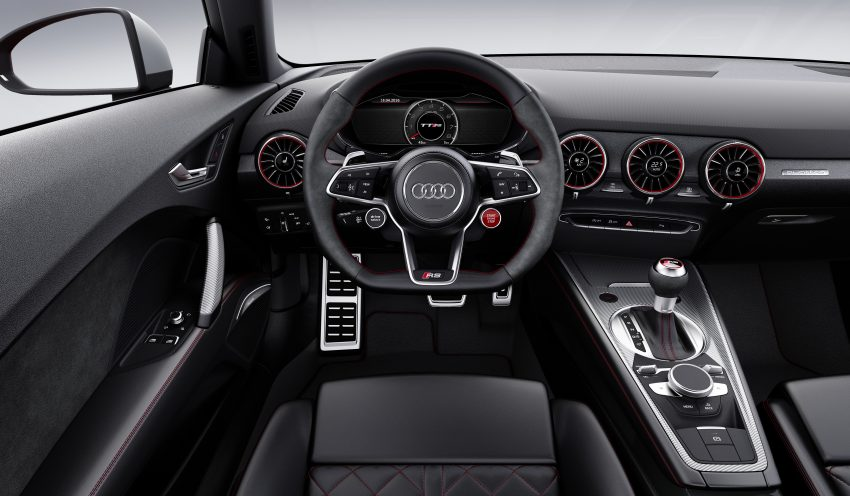 2016 Audi TT RS Coupe, Roadster debut with 400 hp Image #482883